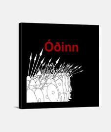 Lienzo ODÍN Y.ES_001B_2019_Odínn