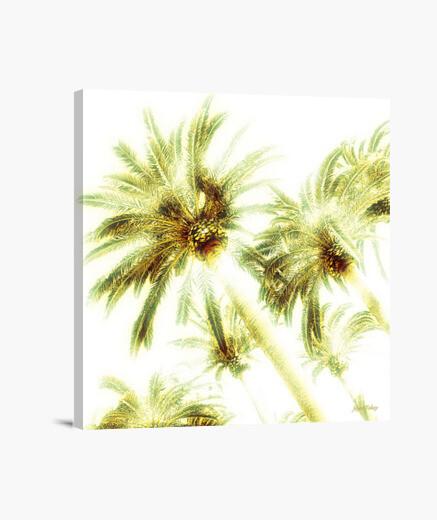 Lienzo palmeras por jayco tokay