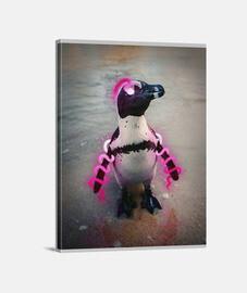 Lienzo pingüino - (30 x 40 cm)