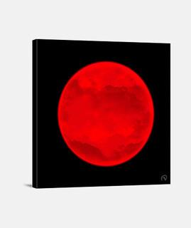 Lienzo Planeta rojo