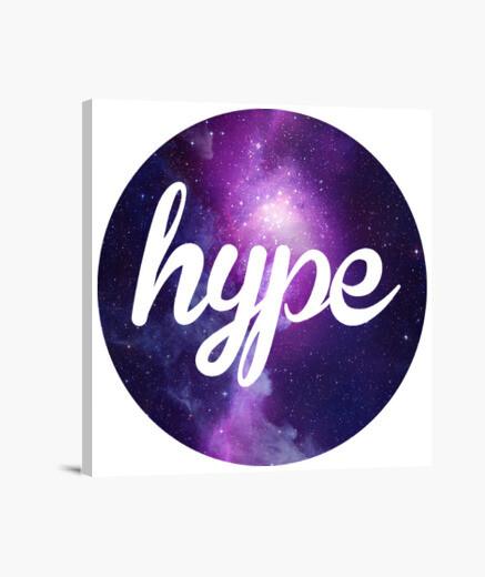 Lienzo ¿Qué es Hype?
