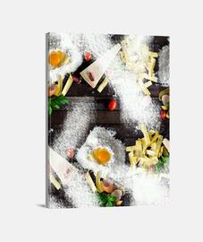 Lienzo RESTAURANT Y.ES 060A 2019 restaurant