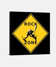 Lienzo Rock Zone
