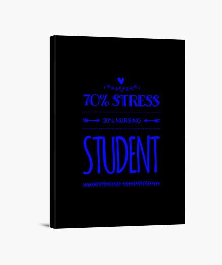 Lienzo rolesgeeft 70 estrés a 30...