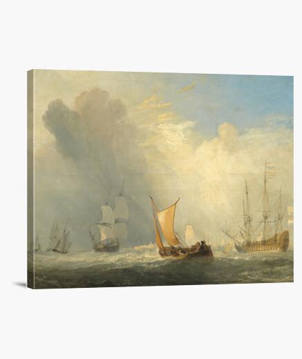 Lienzo Rotterdam Ferry-boat (18339