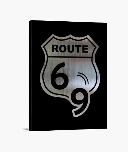 Lienzo Route 69 Heavy Sex & Metal