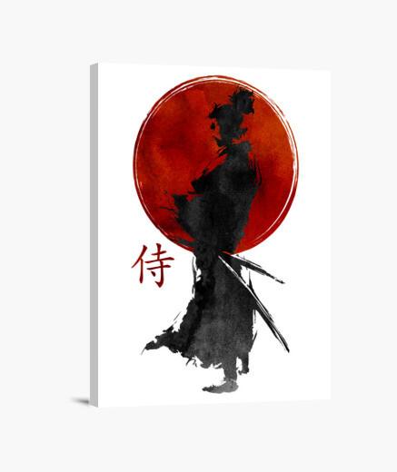 Lienzo Samurai