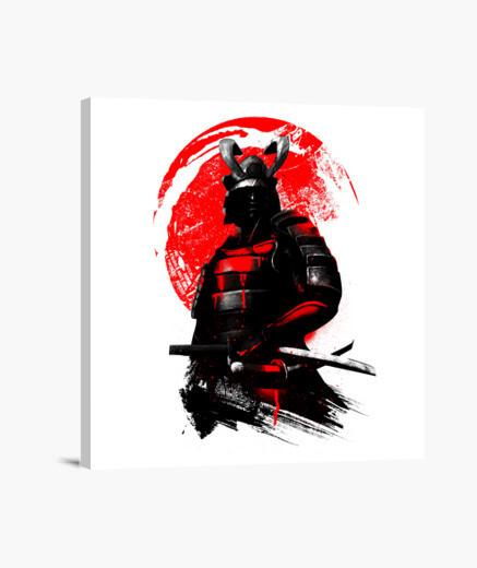 Lienzo Samurai Warrior