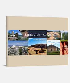 Lienzo Santa Cruz turismo