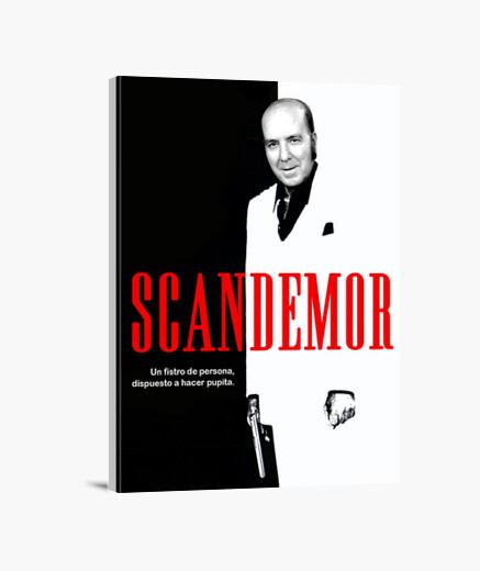 Lienzo Scandemor - Versión de Scarface...