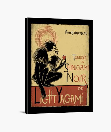 Lienzo Shinigami Noir