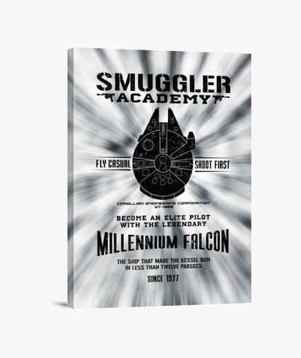 Lienzo Smuggler Academy Canvas