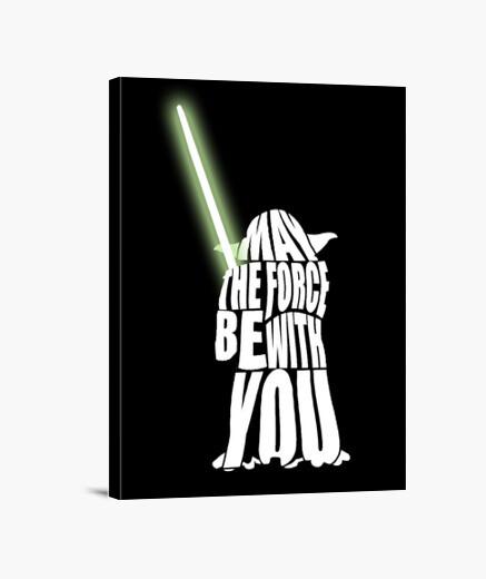Lienzo Star Wars Yoda