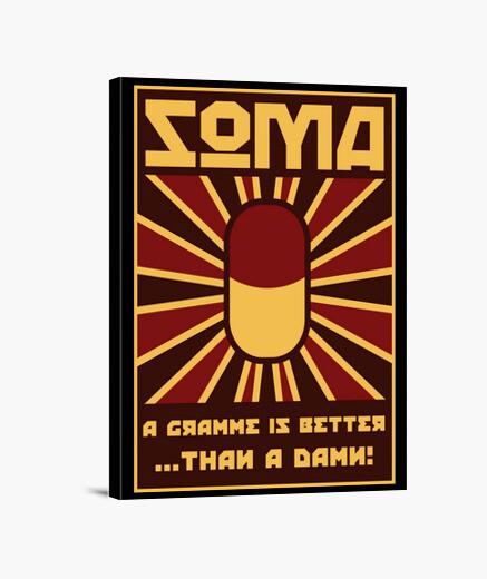 Lienzo Take soma