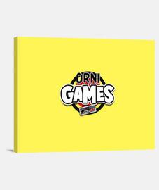 Lienzo Team Amarillo // OrniGames! 4:3 - (40 x 30 cm)
