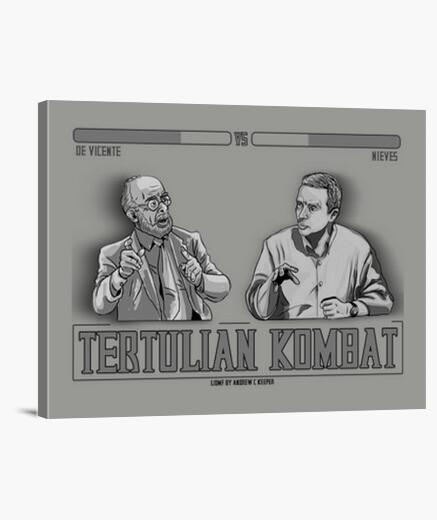 Lienzo Tertulian Kombat