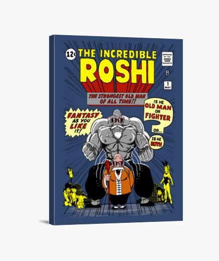 Lienzo The Incredible Roshi