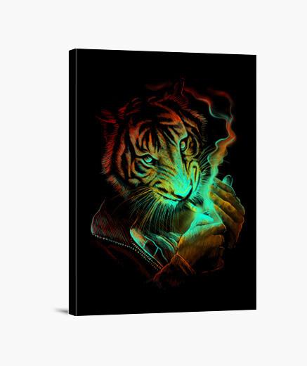 Lienzo Tiger Light