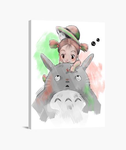 Lienzo Tonari no Totoro