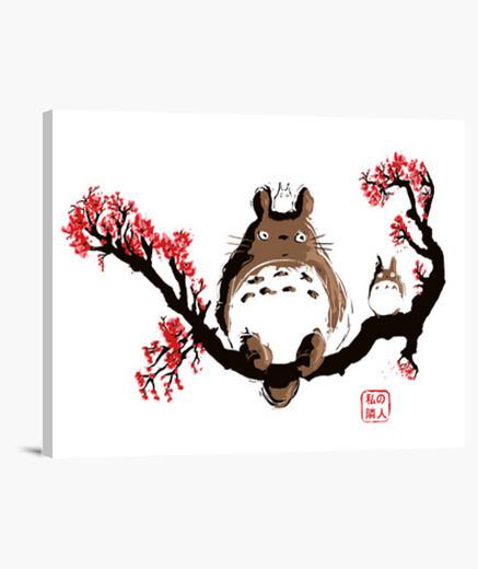 Lienzo Totoro Japan