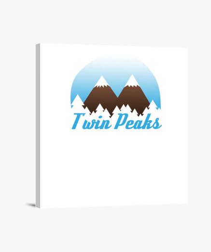 Lienzo Twin Peaks
