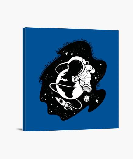 Lienzo Valentina cosmonauta
