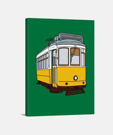 Lienzo Vertical 3:4 - (30 x 40 cm). Lisboa