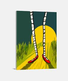 Lienzo Vertical 3:4 - (30 x 40 cm)/Dorothy