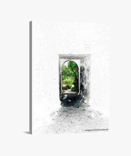 Lienzo Vertical diseño 'Alchemical Door'