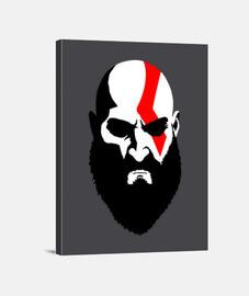 Lienzo Vertical Kratos God of War