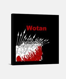Lienzo WOTAN Y.ES_001C_2019_Wotan