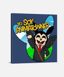 Lienzo Yo Soy Animatowner Roblox