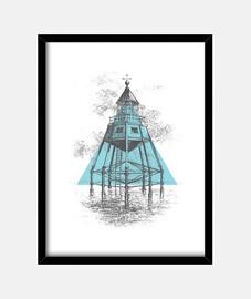 Lighthouse blue