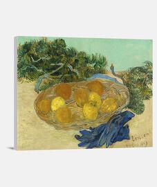 Limones y naranjas con guantes azules (1889)