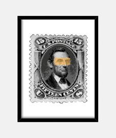 lincoln francobollo