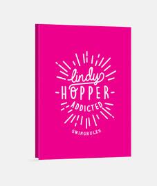 lindyhopper addicted (white)