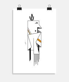 LINE1 orange poster