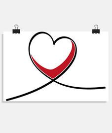 Líneas de corazón
