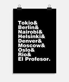 lista de ciudades