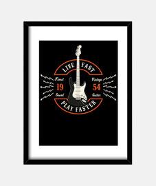 live il gioco veloce più veloce - la chitarra di inizio