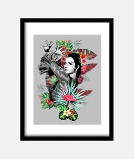 Lola Flores con Flamenco