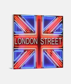 LONDON STREET Lienzo Cuadrado (40 x 40 cm)