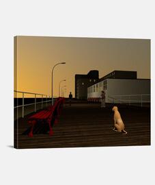 Long Beach Promenade, Long Island, NY