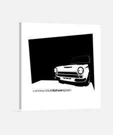 Lotus Cortina - Lienzo