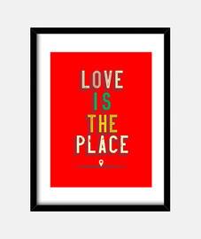 love est l'endroit citation positive