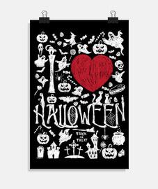 love h all halloween