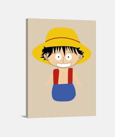 Luffy pequeño