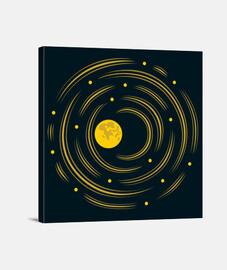 lune et les étoiles rêve