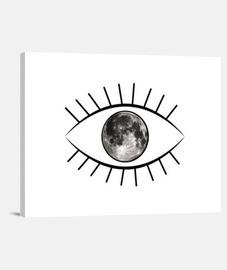 lune oeil