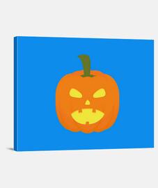 luz de la calabaza de halloween